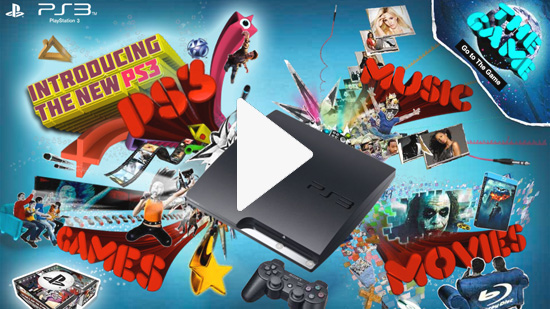 PS3 The Game Microsite