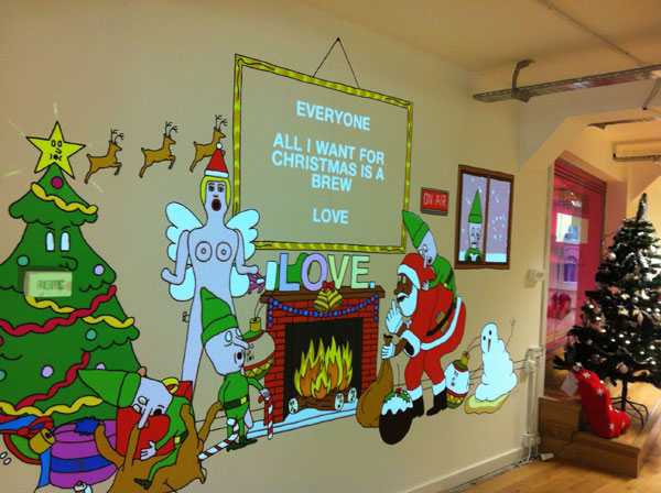 LOVE Xmas 2012: Online Interactive Projection Mapping
